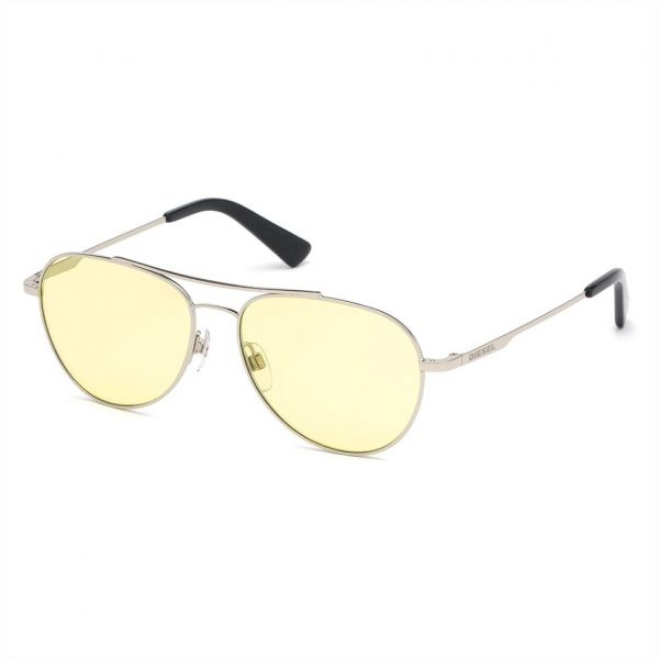 651d95a1e5 Diesel Aviator Sunglasses for Men - Grey Lens