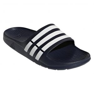 8030eddaea00 adidas Duramo Slides for Men - Blue