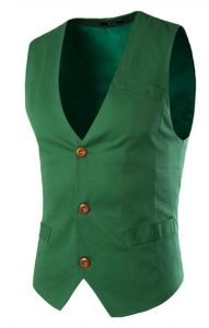 79acac72e Mens Casual Dress Vests 3 Button Tailored Collar Tweed Suit Waistcoat,L