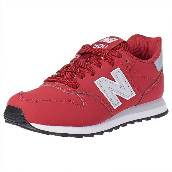 88fd032d6b3 New Balance 500 Sports Sneakers for Women - Pink Silver