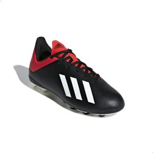 748af985d54 Adidas X 18.4 Flexible Ground Junior Football Shoes For Kids - Core Black