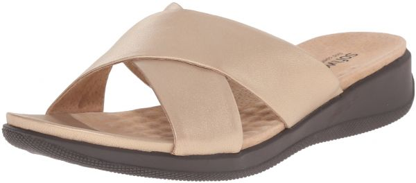b3456569f58f SoftWalk Women s Tillman Slide Sandal