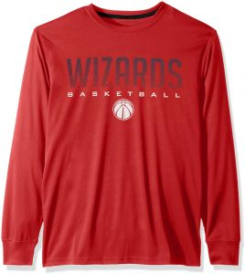NBA Washington Wizards Men s T-Shirt Athletic Quick Dry Long Sleeve Tee  Shirt e5e6cf6ac