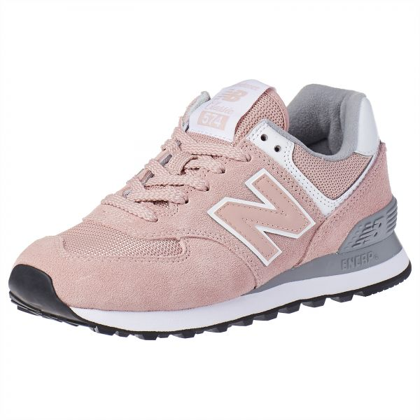 New Balance 574 Sports Sneakers for Women PeachGrey (37