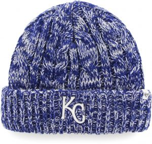 watch e24f2 134f6  47 MLB Kansas City Royals Women s Prima Cuff Knit Beanie, One Size, Royal