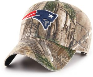 super popular eab22 ce4e9 OTS NFL New England Patriots Realtree Challenger Clean Up Adjustable Hat,  Realtree Camo, One Size