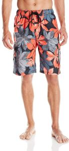 a066958ae3 Kanu Surf Men's Big Pismo Extended Size Swim Trunk, Black, 5X