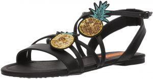 996906a76bf Rocket Dog Women s Hippy Smooth W Pineapple Patch Sandal
