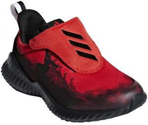d3c9254f900884 adidas Fortarun Spider Man AC K Running Shoes for Kids - Active Red Core  Black FTWR White