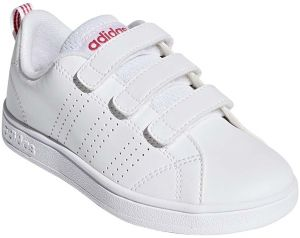 half off 3aaa8 b9645 adidas VS Adv CL CMF C Sports Sneakers Shoes for Kids - FTWR White/Super  Pink F15