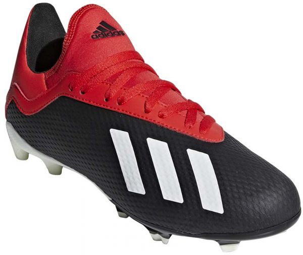 the latest f4057 92f10 adidas X 18.3 FG J Football Shoes for Kids - Core Black/Off White/Grey Four  F17 Size - 33 EU