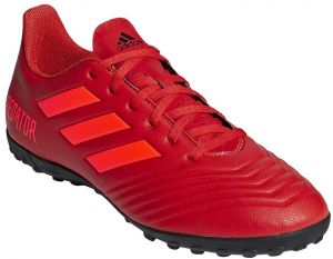 24a5a2cce0b adidas Predator 19.4 TF Football Shoes for Men - Active Red Solar Red Core  Black