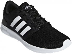 b11f5007bf2c0 adidas QT Racer Running Shoes for Women - Core Black FTWR White Carbon S18