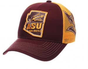 0fcec0f55e0 Zephyr NCAA Arizona State Sun Devils Men s Interstate Trucker Cap