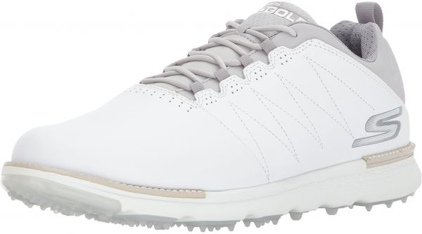 wholesale dealer b8711 1ea7e Skechers Men s Go Golf Elite 3 Golf Shoe,White Gray,7.5 M US