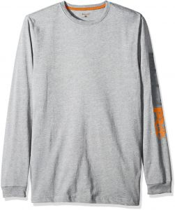 0d35573ee9 Timberland PRO Men s Big and Tall Base Plate Blended Logo Long-Sleeve T- Shirt