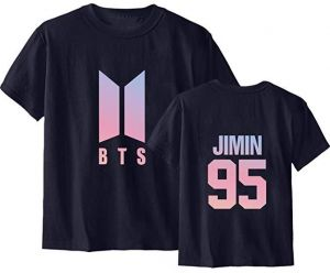 c06859e520d Men s And Women s Short-sleeved Tops Tshirt Love Yourself Tear Suga Jung  Kook Tee Casual sweatshirt letter t-shirt