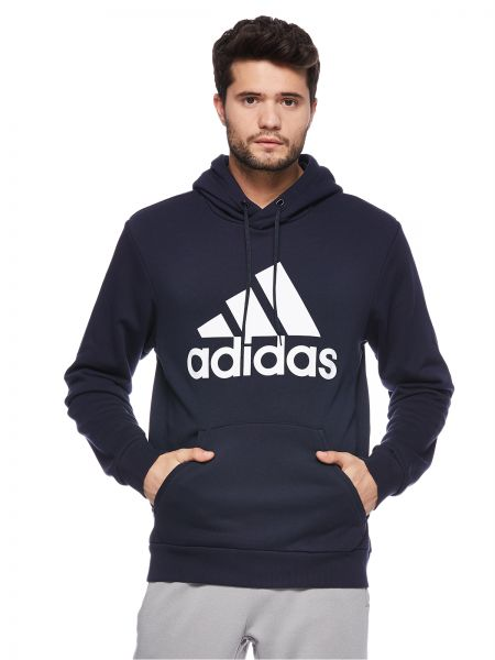 pretty nice 892e5 2dc93 adidas Must Haves Badge of Sports Hoodie for Men - Navy   Souq - UAE