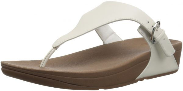 29d7069e3 FitFlop Women s The Skinny Leather Toe-Thong Sandal