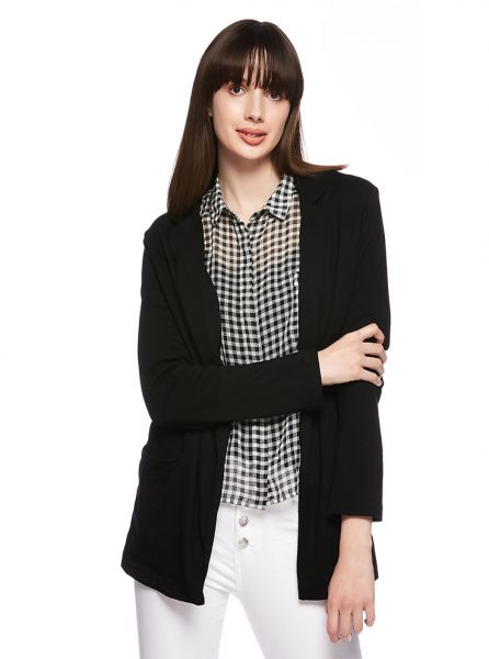58ff8180bd Bershka Cardigan Jacket for Women - Black