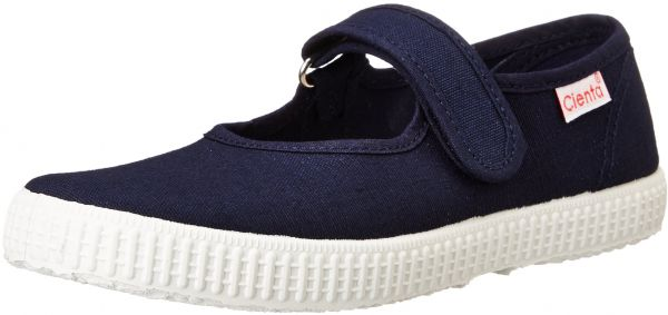 ba04e2a5a05d9 Cienta Mary Jane Sneakers for Girls - Navy Casual Shoes with Adjustable  Strap, 19 EU (3.5 M US Toddler)