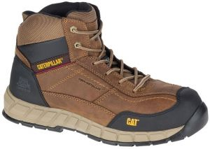 9bfc5f1827e CATERPILLER SAFETY SHOES STREAMLINE MID LEATHER COMPOSITE TOE S1P HRO SRC  WORK BOOT