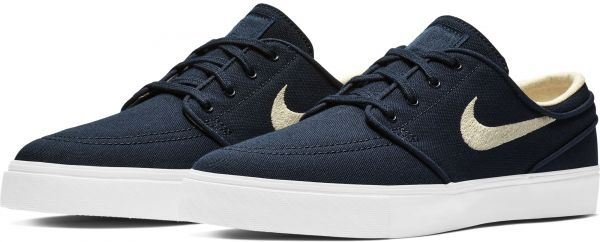size 40 4d64f ba623 Nike Zoom Stefan Janoski Cnvs Sneaker for Men Textile , Navy   White -  615957-405. by Nike, Casual   Dress Shoes - Be the first to rate this  product