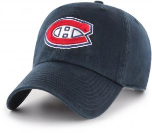 best service 4862c 4bb10 OTS NHL Montreal Canadiens Challenger Clean Up Adjustable Hat, Navy, One  Size