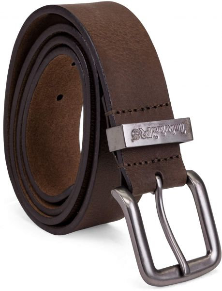 8ea0a2ccbb7 Timberland PRO Men's 40mm Workwear Leather Belt, Brown/Logo Keepers, 38 |  Souq - UAE