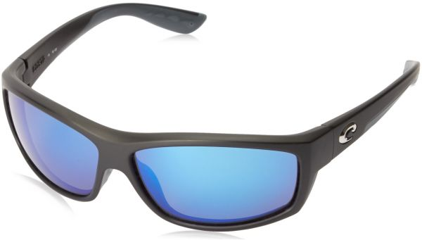 aa6028aaca Costa del Mar Unisex-Adult Saltbreak BK 11 OBMGLP Polarized Iridium Wrap  Sunglasses