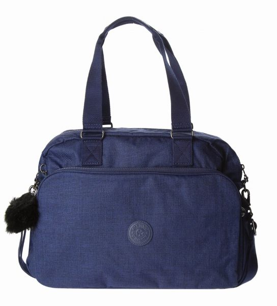 d11c02491ae Kipling Hobos Bag For Women , Polysester , Navy - 25140-48G-Cotton Indigo