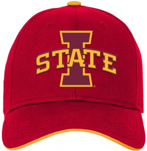 816b9dcedea92 NCAA Iowa State Cyclones Kids   Youth Boys Basic Structured Adjustable Hat