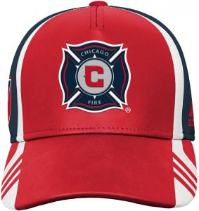99ed9e2e40cf42 Outerstuff MLS Chicago Fire Boys Structured Adjustable Hat, Red, One Size  (8)