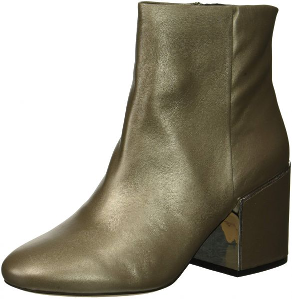 9ad47629047 Kenneth Cole New York Women's Reeve 2 Block Heel Bootie Ankle Boot, Grey,  8.5 M US