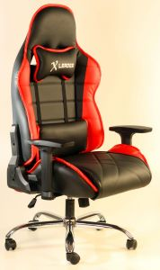 Surprising Leader Gaming Chair In Black Red Pvc From Leaders Furniture Pdpeps Interior Chair Design Pdpepsorg
