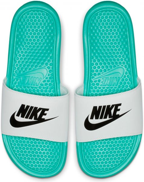 sneakers great fit on feet at Nike Slides Slippers For Men , 44 EU - White : Buy Online at ...