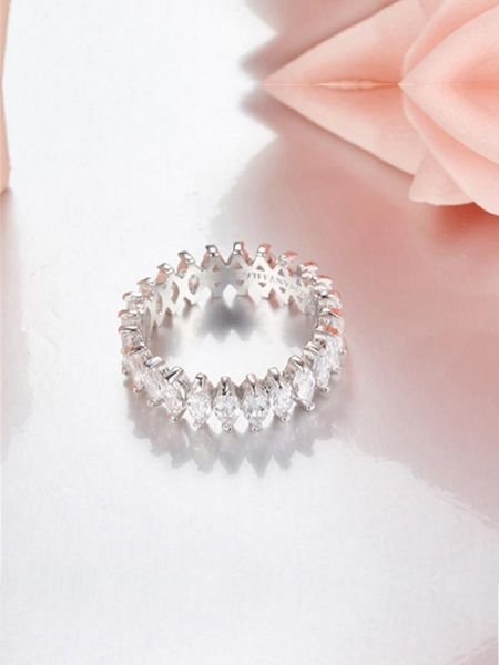 Women's   Ring Ladylike Rhinestone Delicate Ring Accessory