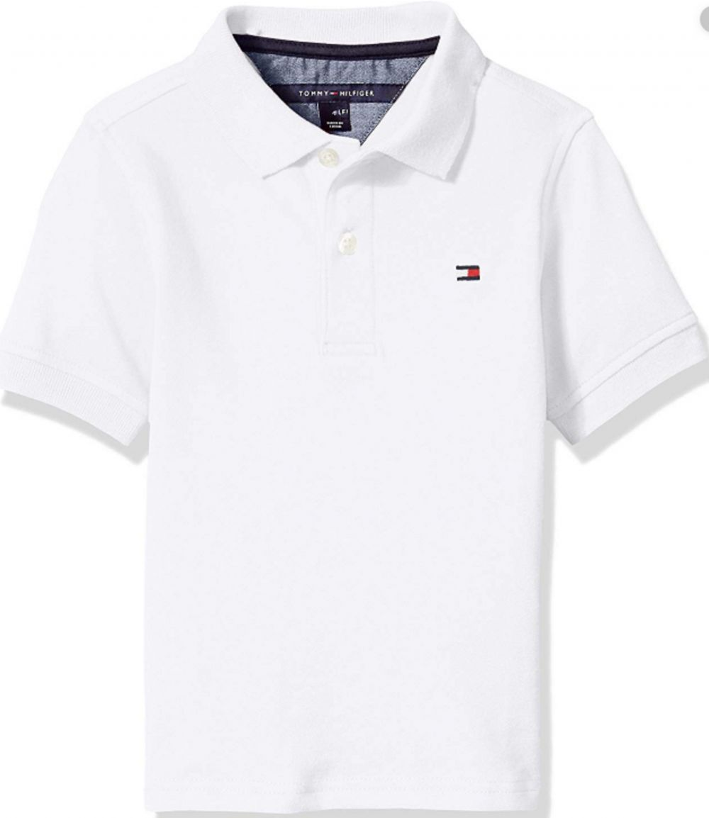 Tommy Hilfiger polo for men - White - X Large