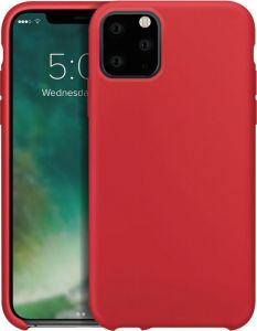 iPhone 11 Pro Max Silicone Case , Red