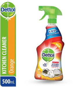 Dettol Orange Healthy Kitchen Power Cleaner Trigger Spray 500ml