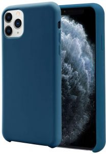 Back Cover Silicon Case For Apple Iphone 11 Pro Max Teal Blue تسوق اونلاين اكسسوارات الموبايل بافضل سعر في مصر سوق كوم