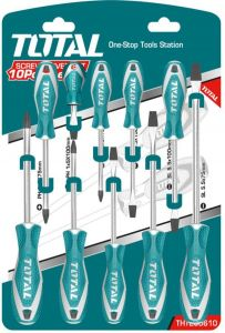 Total Screwdriver Set 10 Pcs - THT250610 : Buy Online Hand tools at Best  Prices in Egypt | Souq.com