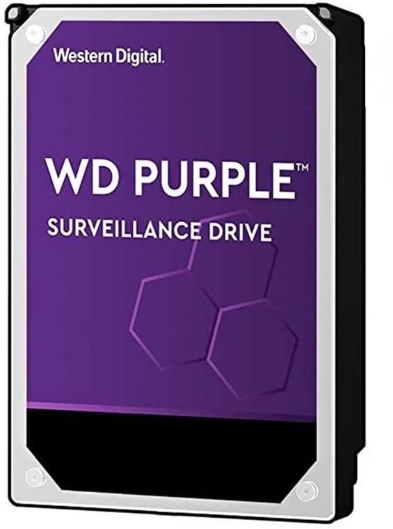 WD 4 TB Purple Surveillance HDD - WD40PURZ