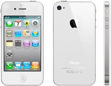 Apple iPhone 4S (16 GB, WiFi 3G, White)