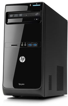 HP Pro 3500 Microtower PC QB319EA (500 GB, 2 GB, CPU Only)