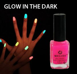 Melodi Pink Neon Nail Polish (Glow in the Dark)  Buy Online