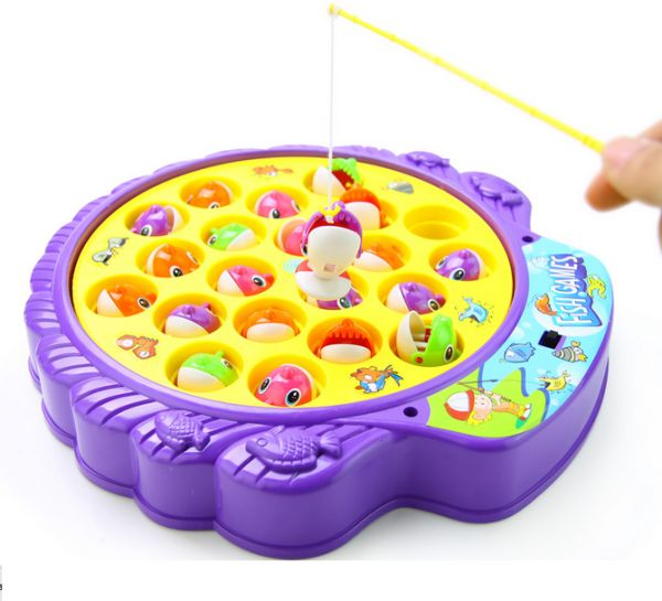 Fish Game Toy : Assorted kids fishing toys fishes rods game
